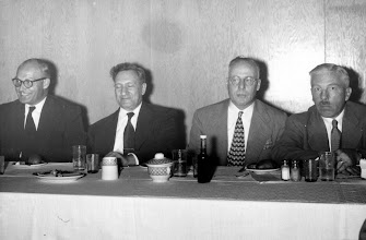 Photo: George Ostiguy, Ernest Szekely, Bunny Stotesbury, John Fox