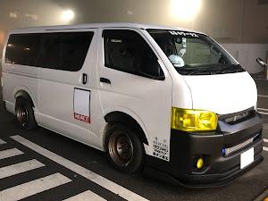 ハイエースバン TRH200V SUPER GL 2018年式のカスタム事例画像 keiji@黒バンパー愛好会さんの2020年01月24日12:24の投稿