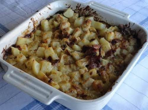 "Ranch Chicken and Potatoes Casserole for 2 ""Excellent! I made this last..."