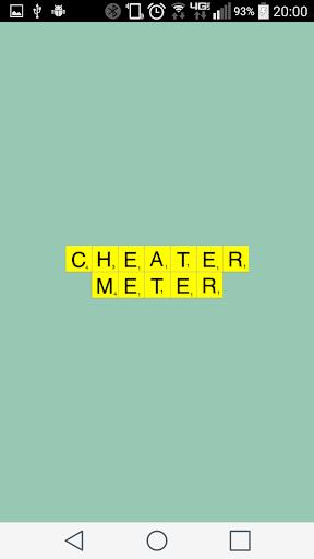 Words Cheater Meter AntiCheat