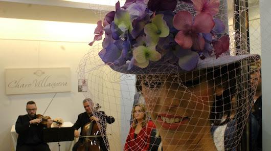 Charo Villanueva presenta 'Sueños', su colección de tocados y sombreros