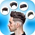 Boy Hairstyle Camera icon