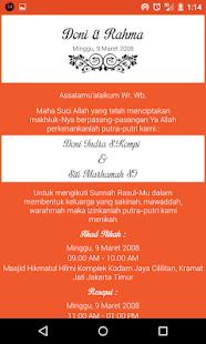 Wedding invitation maker android apps on google play wedding invitation maker screenshot thumbnail stopboris Gallery