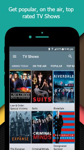 Movie-TV Show Guide (TMDb) 2.3 screenshots 2