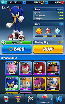Sonic Erők: Speed ​​Battle APK screenshot thumbnail 21