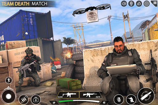 Immortal Squad 3D Free Game: New Offline Gun Games 20.4.1.4 screenshots 15