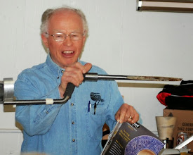 Photo: Phil Brown first showed another coring tool that uses your arm for support.  He had trouble finding it in catalogs so it may be hard to find.