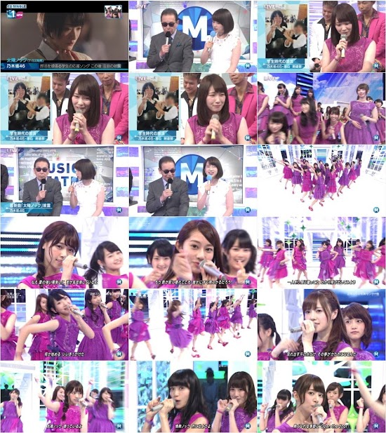 (TV-Music)(1080i) 乃木坂46 Part – Music Station 150724