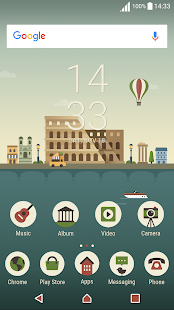 Italy ND Xperia Theme - náhled