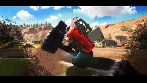 Télécharger Monster Truck Demolition derby Stunts Simulator 3D apk mod screenshots 4