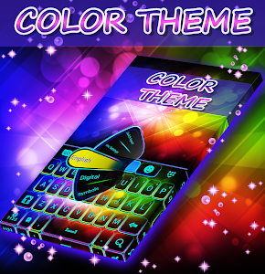 Color Themes Keyboard screenshot 0