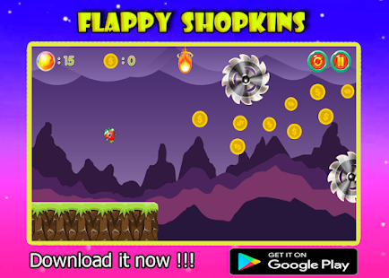 Flappy Shopkins - náhled