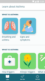 My Asthma App- screenshot thumbnail