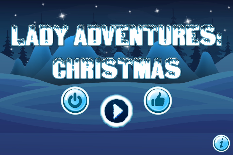 Lady Adventures Christmas- screenshot