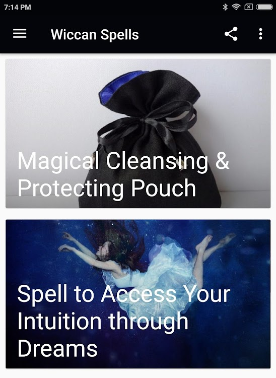 WICCAN SPELLS – (Android Apps) — AppAgg