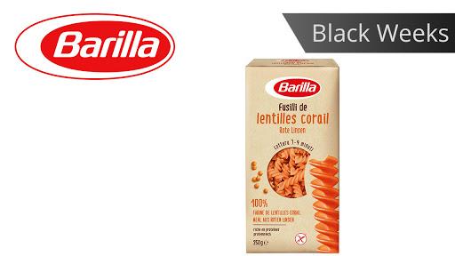 Bild für Cashback-Angebot: Black Weeks:                                                                    Barilla Fusilli aus Roten Linsen - Barilla