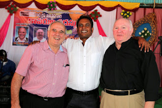 Photo: The MTM ministry team at Hyderabad, India. After the Chintaluru MTM Ricky and his team traveled with me to do another MTM with Good Life Ministries (GLM) in Hyderabad, India. Brother Sam Gunti is the director and leader of GLM (between Ricky & I.