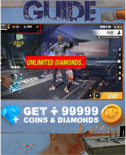 ud83dudc8e Diamond Guide For Free : Diamonds & Coins Fire 3.0 screenshots 2