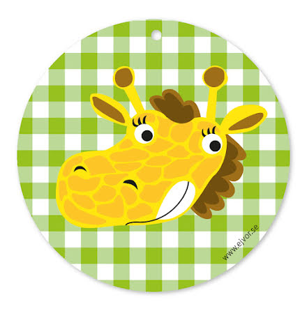 Djurkort Giraff