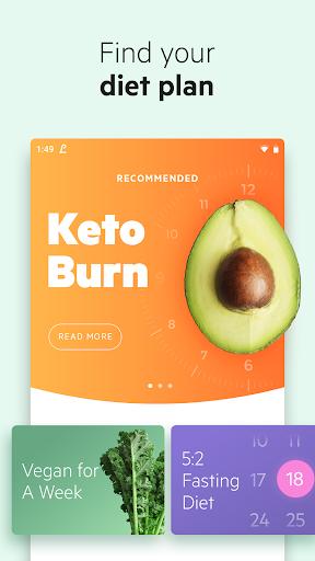 Lifesum - Diet Plan, Macro Calculator & Food Diary 7.1.8 screenshots 1