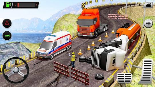 Offroad Oil Tanker Transport Truck Driver 2020 2
