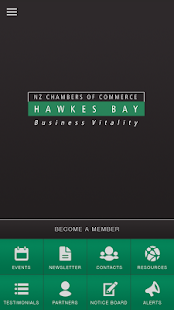 Hawkes Bay Chamber of Commerce- screenshot thumbnail