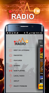 iRadio FM Music & Radio- screenshot thumbnail