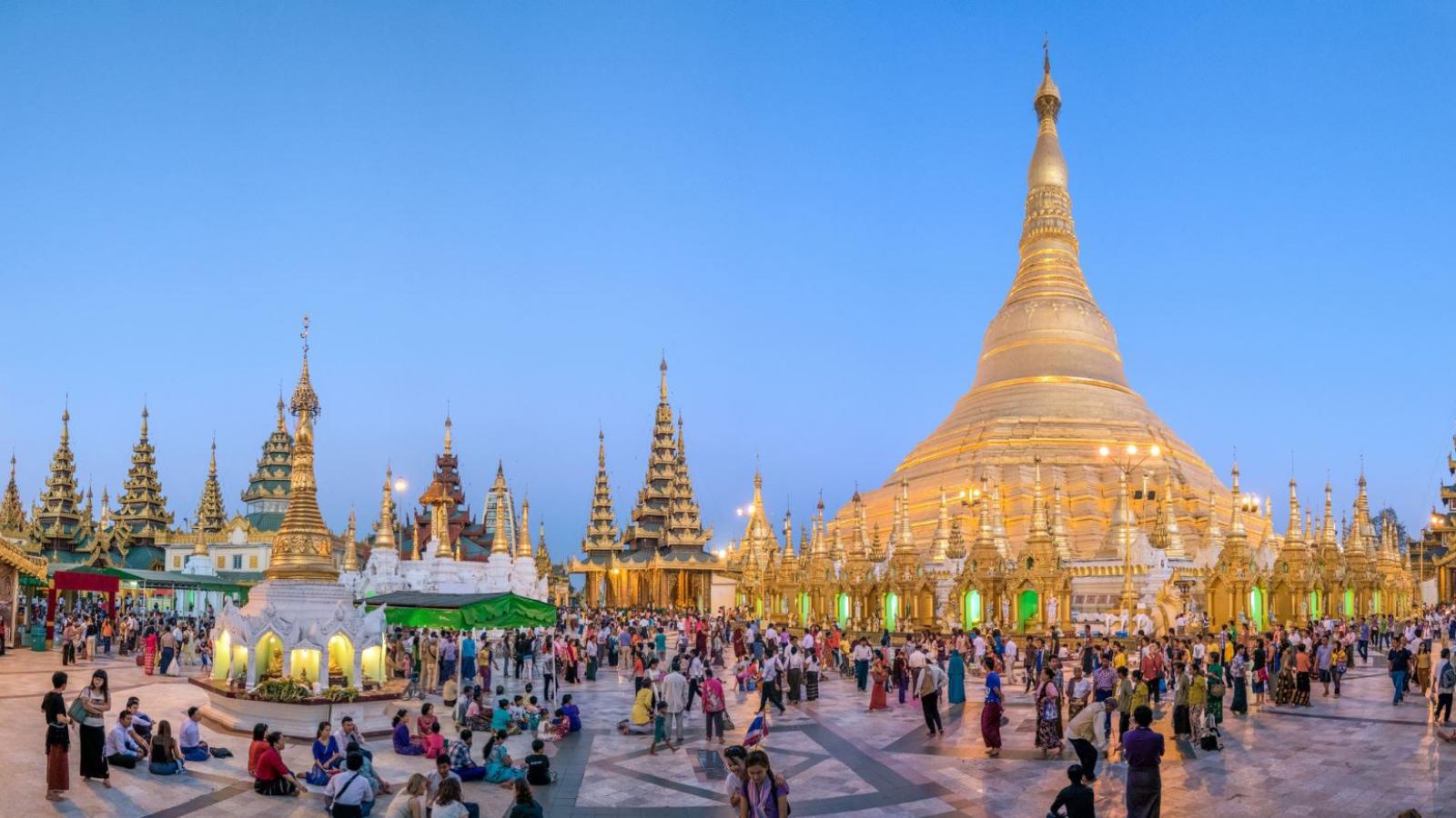 Lễ hội chùa Mann Shwe Settaw, Myanmar
