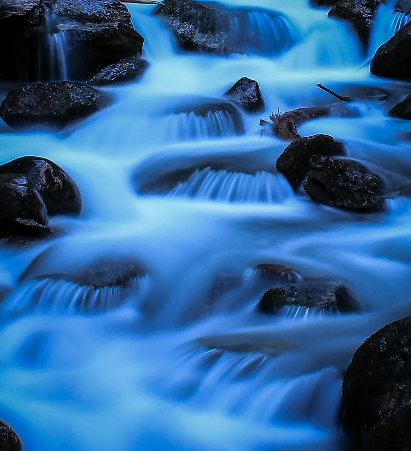 by Eden Meyer - Nature Up Close Water ( magic, blue, river )