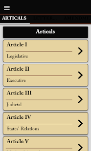 us constitution and amendments for PC-Windows 7,8,10 and Mac apk screenshot 6