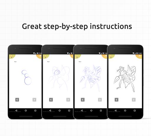 How to draw Pokemons