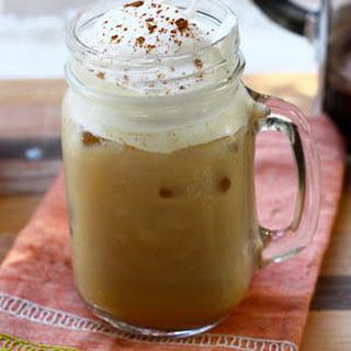 Iced Pumpkin Spice Latte