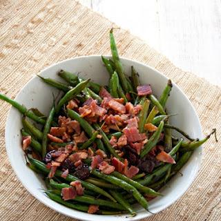 Tart Cherry And Balsamic Glazed Green Beans