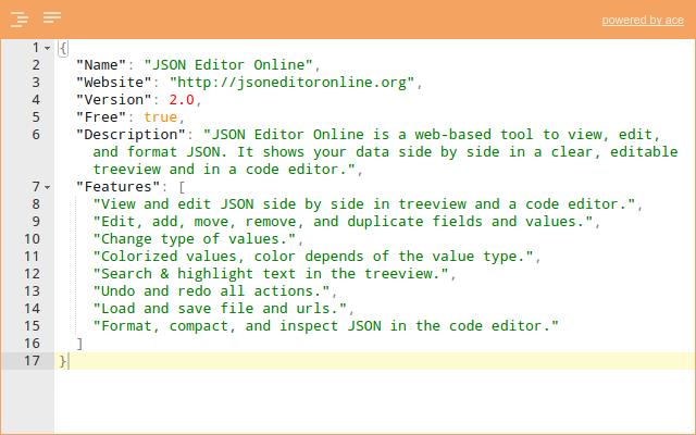 Portable Json Editor