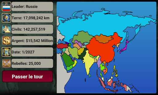 Asia Empire 2027  screenshots 2