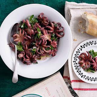 Braised Octopus With Oregano.