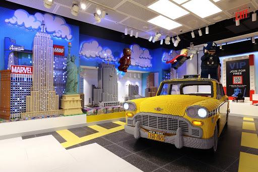 Huge new LEGO flagship opens at Rockefeller Center