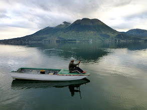 Photo: Lago San Pablo, Imbabura, early morning