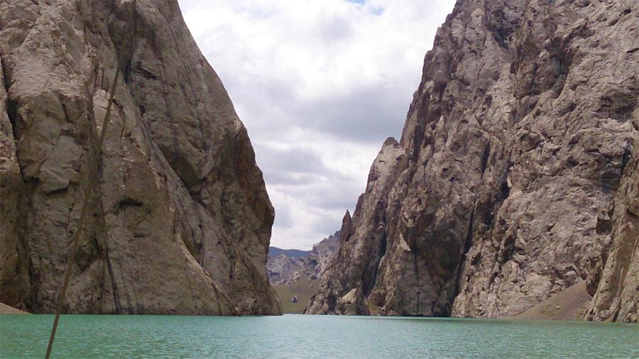 Отчет о парусном прохождении высокогорного озера Кель Су, расположенного во внутреннем Тянь-Шане