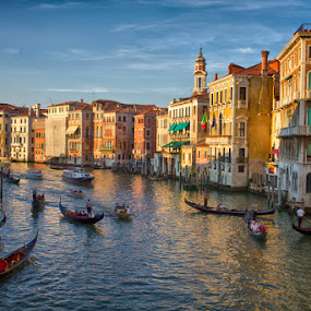 Beautiful Venice by Kim Andelkovic - City,  Street & Park  Historic Districts ( canals, venice, italy )