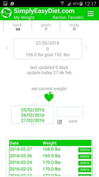Simply Easy Diet Pro- screenshot