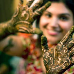 Mehndi by Anurag Bhateja - Wedding Ceremony ( mehndi, north india, wedding, india )
