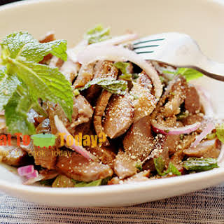 GRILLED BEEF SALAD FROM ISAN / NAAM TOK NUEA.