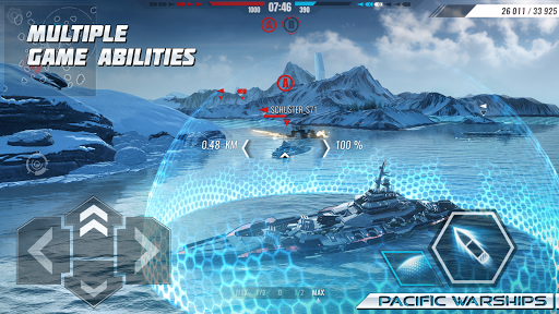 Pacific Warships: World of Naval PvP Warfare apktram screenshots 7