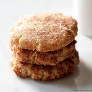 Almond Flour Snickerdoodles.