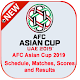 AFC Asian Cup 2019 Match Schedule - Asian Cup UAE Android apk