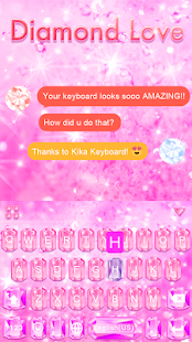 Diamond Love 💎 Keyboard Theme- screenshot thumbnail