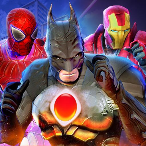 Superhero City Savior Fighting Hero Battle Arena