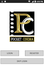 Pocket Cinema App - náhled