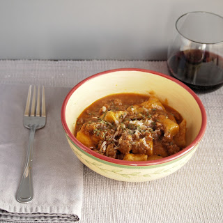 Farro Gnocchi with Pork Ragu